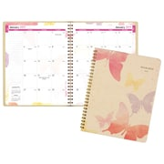 "AT-A-GLANCE® Watercolors Recycled Monthly Planner, 13 Months, January Start, 6 7/8"" x 8 3/4"" (791-800G-19)"