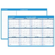 "AT-A-GLANCE® Horizontal Erasable Wall Calendar, 12 Months, Reversible for Planning Space, 48"" x 32"" (PM300-28-19)"