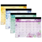 "AT-A-GLANCE® Beautiful Day Desk Pad Calendar, 12 Months, January Start, 21 3/4"" x 17"" (SK38-704-19)"
