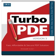 IMSI TurboPDF TurboPDF v3 for 1 User, Windows, Download (00TPD530XX)