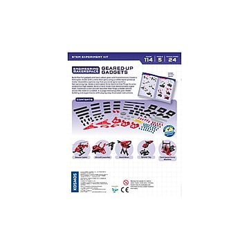 Thames & Kosmos Geared-Up Gadgets Engineering and Experiment Kit (555060)