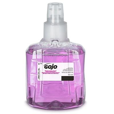 GOJO Antibacterial Foaming Soap Refill, Plum, 40.5 oz., 2/Carton (1912-02)