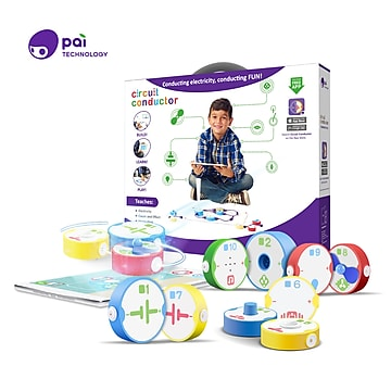 Pai Technology Circuit Conductor, Learn about Electricity, Circuits, and Switches with Hands-On play and a Free App (T0007W)