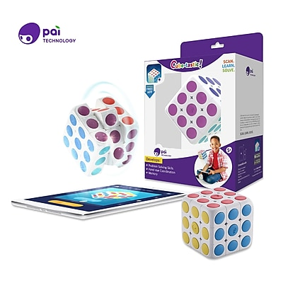 Pai Technology CubeTastic, Learn to Solve the Puzzle Cube with Free App (P0001U)