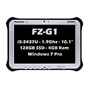 "Panasonic Toughpad FZ-G1 10.1"" Refurbished Notebook, Intel i5, 4GB Memory, Windows 7 Professional (FZ-G1AABAB1M)"