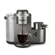 Keurig K-Cafe Special Edition Single Serve K-Cup Pod Coffee, Latte and Cappuccino Maker, Nickel (373378)