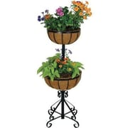 Gardman USA 2-Tier Forge Planter With Coco Liner (R525G)