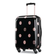 "Disney Minnie Lux Black Dots 21"" Hardside Spinner, Polycarbonate Black Dots (107612-L022)"