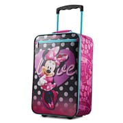 "Disney Minnie Mouse 18"" Softside Upright, Polyester Minnie Mouse (89682-4451)"