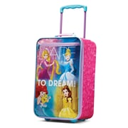 "Disney Princess 18"" Softside Upright, Polyester, Princess (74726-2093)"