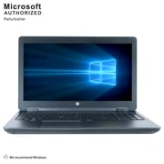 HP ZBook 15 Mobile Workstation, 15.6 Inch,  Laptop, Intel Core i7-4800MQ, 8GB DDR3L, 240GB SSD, Refurbished (EN/ESP)