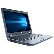 "HP ZBook 15 G3 15.6"" Refurbished Laptop, Intel Core i7-4800MQ Processor, 8GB Memory, 240GB SSD, Windows 10 Pro"