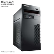 Lenovo ThinkCentre M72E Tower Desktop Computer, Intel® Core™ i3-3220, 8G DDR3, 120G SSD, Refurbished (S18VFTLEDT00P20)