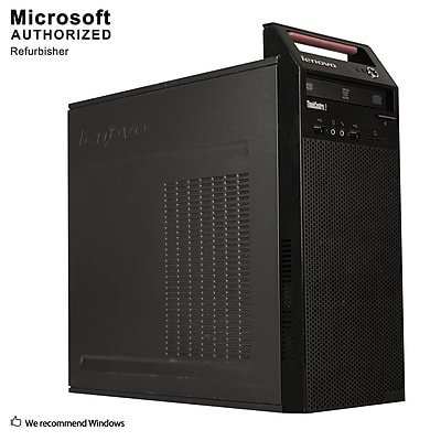 Lenovo ThinkCentre  Edge 72 Desktop Computer, Intel Core i3-3220, 8GB DDR3, 120GB SSD, Tower, Refurbished (EN/ESP)
