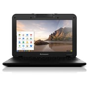 "Lenovo N21 11.6"" Refurbished Chromebook, Intel Celeron N2840, 4GB Memory, 16GB SSD"