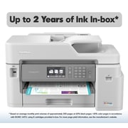 Brother MFC-J5845DW XL Extended Print INKvestment Tank Color Inkjet All-in-One Printer