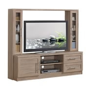 "Techni Mobili Entertainment Center with Storage for TV's up to 50"", Sand (RTA-1820-SND)"