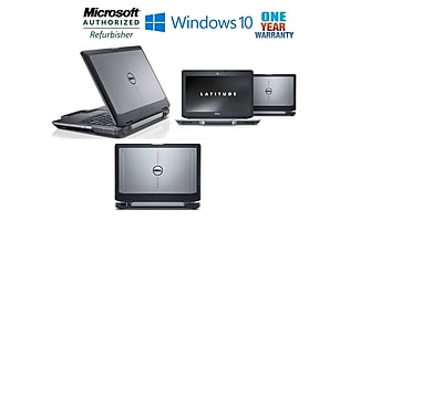 "Dell Latitude E6430 ATG 14"" Laptop, Intel Core i7-3520M 2.4GHz, 8GB RAM, 120GB Solid State HD, Windows 10 Pro, Refurbished"
