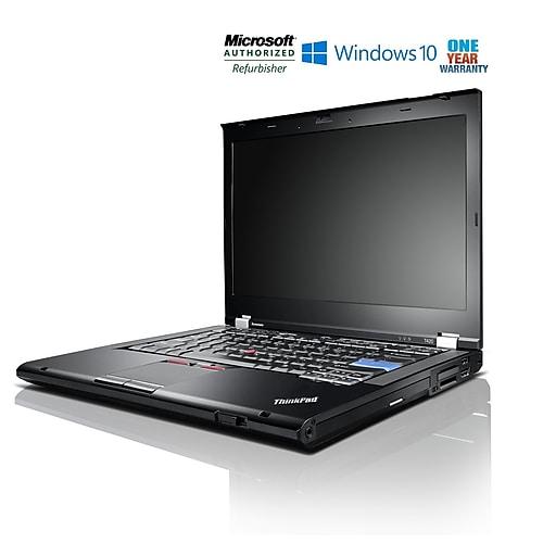 Lenovo ThinkPad T420 Laptop, Intel Core i7 2 7GHz, 8GB RAM, 320GB Hard  Drive, 14