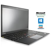 "Lenovo Thinkpad X1 Carbon G2 14"" Laptop Ultrabook, Intel Core i5 4300U 1.9Ghz Processor, Refurbished"