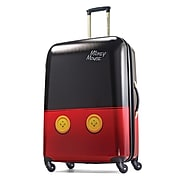 "American Tourister Disney 28"" Hardside Spinner, Mickey Mouse Pants, Polycarbonate Mickey Pants (67611-4757)"