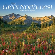 2019 BrownTrout  The Great Northwest, Monthly Mini Wall Calendar