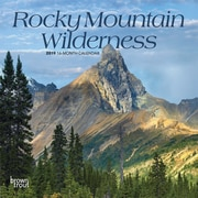 2019 BrownTrout  Monthly Mini Wall Calendar, Rocky Mountain Wilderness