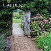2019 BrownTrout  Gardens Monthly Mini Wall Calendar
