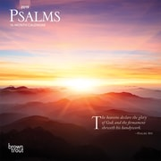 2019 BrownTrout  Monthly Mini Wall Calendar, Psalms