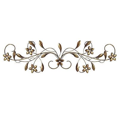 Stratton Home Decor Vintage Scroll Wall Decor (S01302)