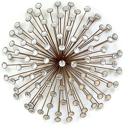 Stratton Home Decor Bronze Acrylic Burst (SPC 986)