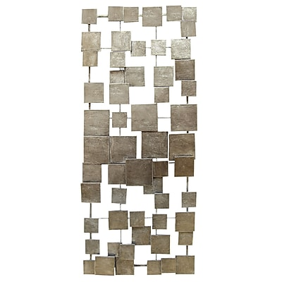 Stratton Home Decor Geometric Tiles Wall Decor (SHD0211)