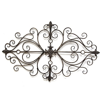 Stratton Home Decor Traditional Scroll Wall Decor (SHD0138)