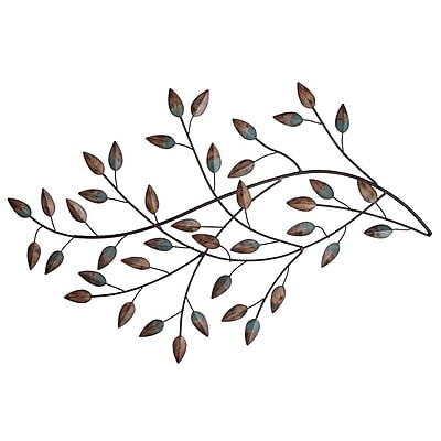 Stratton Home Decor Blowing Leaves Wall Decor (SHD0119)