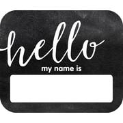 Carson Dellosa Industrial Chic Hello Name Tags (150063)