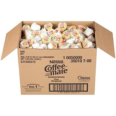 Coffee-mate Original Liquid Single Serve Bulk Pack, 360 Count (NES35010)