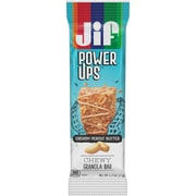 Jif Power Ups Chewy Granola Bars, Creamy Peanut Butter, 1.3-Ounce Bar, 5 Count Box (SMU24440)