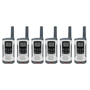 Motorola 25-Mile Talkabout T260TP 2-Way Radios, White, 6/Pack