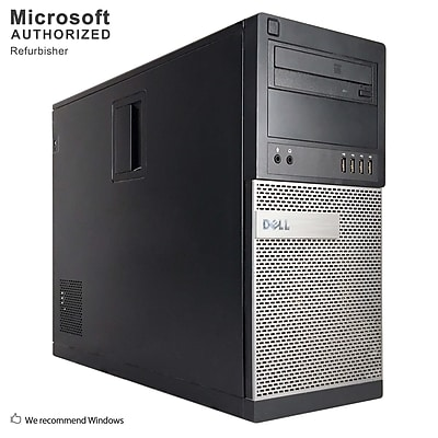 Dell OptiPlex 790 Desktop Computer, Intel Core i7-2600, 360G SSD, Tower, Refurbished