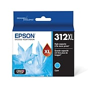 Epson 312XL Cyan High Yield Ink Cartridge