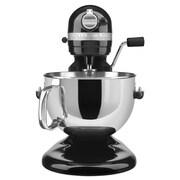 KitchenAid® Professional 600™ 6 Quart Bowl-Lift Stand Mixer, Onyx Black, Refurbished (RKP26M1XOB)