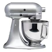 KitchenAid® Artisan® 5 Quart Tilt-Head Stand Mixer, Contour Silver, Refurbished (RRK150CU)