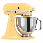 KitchenAid® Artisan® 5 Quart Tilt-Head Stand Mixer, Majestic Yellow, Refurbished (RRK150MY)