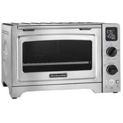 "KitchenAid® 12"" Convection Bake Digital Countertop Oven, Contour Silver, Refurbished (RKCO273SS)"