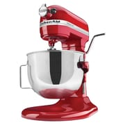 KitchenAid® Professional Heavy Duty 5 Quart Bowl-Lift Stand Mixer, Empire Red, Refurbished (RKG25H0XER)