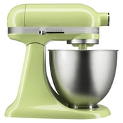 KitchenAid® Artisan Mini 3.5 Quart Tilt-Head Stand Mixer, Honeydew, Refurbished (RKSM33XXHW)