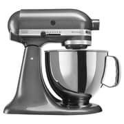 KitchenAid® Artisan® 5 Quart Tilt-Head Stand Mixer, Liquid Graphite, Refurbished (RRK150QG)