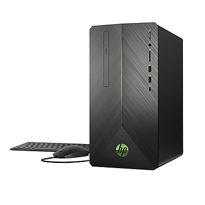 HP® Pavilion 690-0010 Gaming Desktop PC, AMD Ryzen 3-2200G