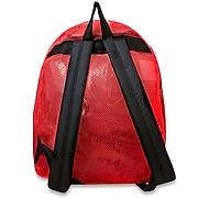 """Trailmaker 17"""" High Quality Polyester Mesh Back Pack, Red (MESH17RED)"""