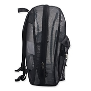 "Trailmaker 17"" High Quality Polyester Mesh Back Pack, Black (MESH17BLK)"